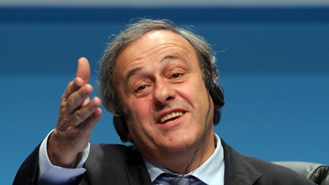 Platini: UEFA looking to ease rules on club spending