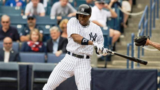 Baseball - Granderson fractures forearm, to miss Opening Day