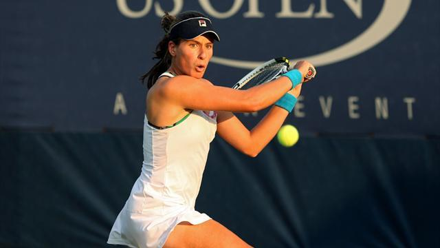 Konta's US Open run comes to an end