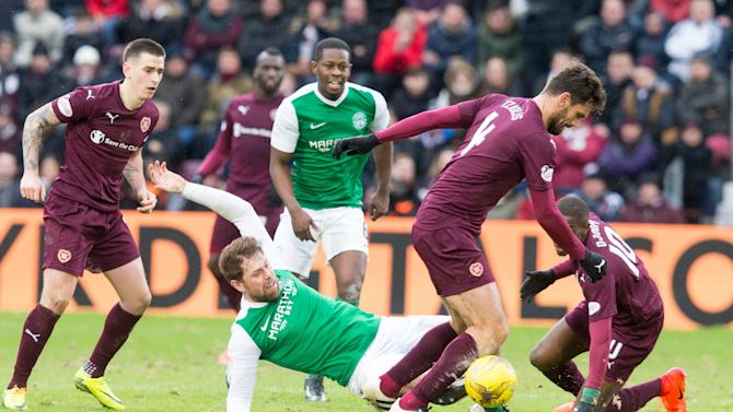 Hearts 0 Hibernian 0: Edinburgh rivals play out bore draw in Scottish Cup fifth round