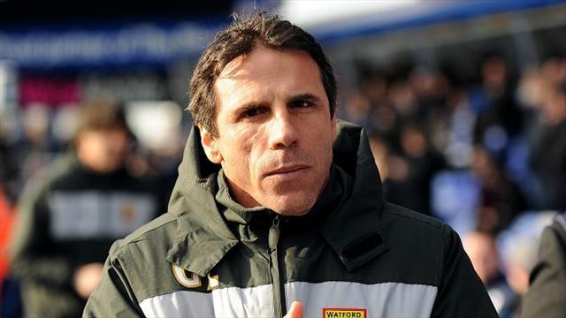 Football - Perfect day for Zola