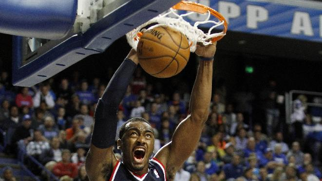 Wizards pin their playoff hopes on a Wall