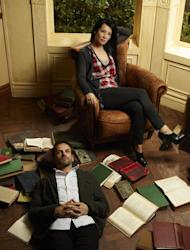 """This image released by CBS shows Jonny Lee Miller as Sherlock Holmes, left, and Lucy Liu as Watson from the new television series """"Elementary,"""" premiering Thursday, Sept. 27, 2012 at 10 p.m. EST on CBS. (AP Photo/CBS, Nino Muñoz)"""