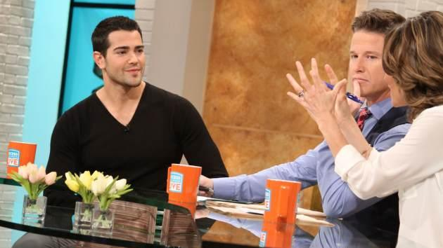 Jesse Metcalfe stops by Access Hollywood Live on April 11, 2013 -- Access Hollywood