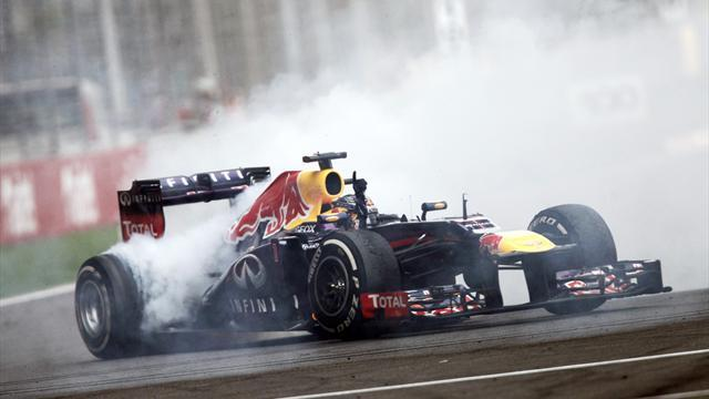 Indian Grand Prix - Vettel reprimanded for donuts after win