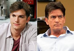 Ashton Kutcher, Charlie Sheen | Photo Credits: Darren Michaels/Warner Bros, Greg Gayne / FX