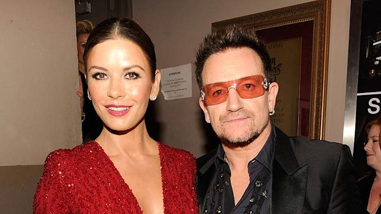 Zeta Jones Bono Tony Awards