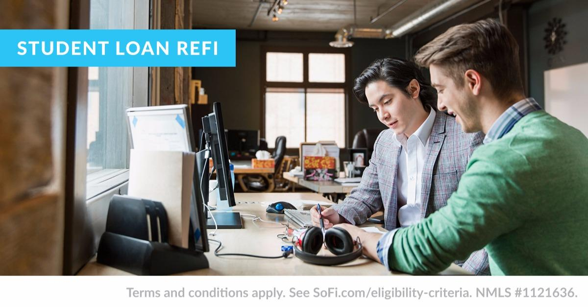 What is student loan refinancing?