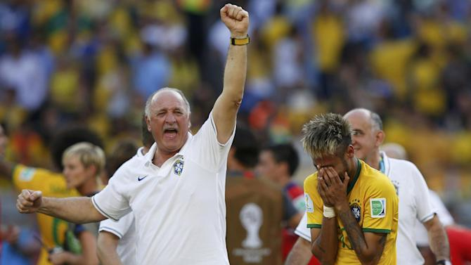 World Cup - Brazil must improve against Colombia, says Scolari