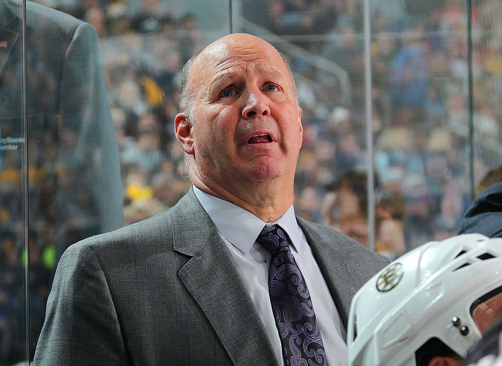 BUFFALO, NY - DECEMBER 29: Head coach Claude Julien of the Boston Bruins watches the action during an NHL game against the Buffalo Sabres at the KeyBank Center on December 29, 2016 in Buffalo, New York. (Photo by Bill Wippert/NHLI via Getty Images)