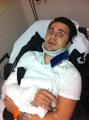 Kris Allen Breaks Wrist in Car Crash, Announces His Wife Katy Is Pregnant