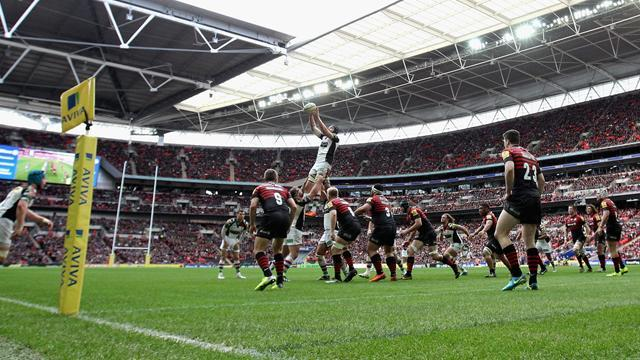 Aviva Premiership - Saracens beat Quins in front of nearly 84,000 at Wembley