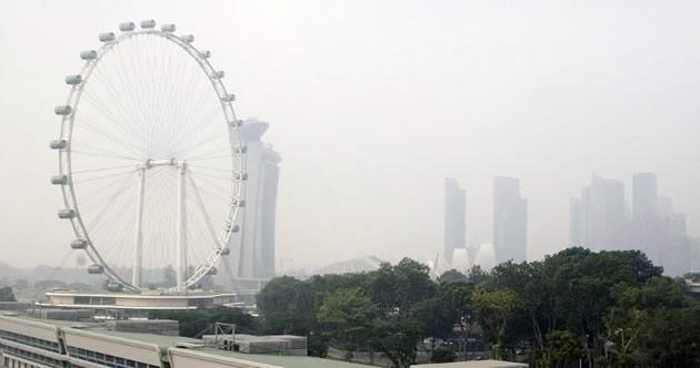 Singapore's air quality dipped to a low of 64 on September 6. (AFP photo)