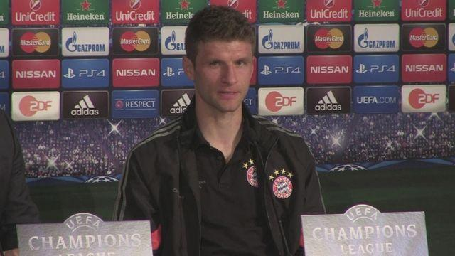 Muller certain of securing 2-0 win over Porto