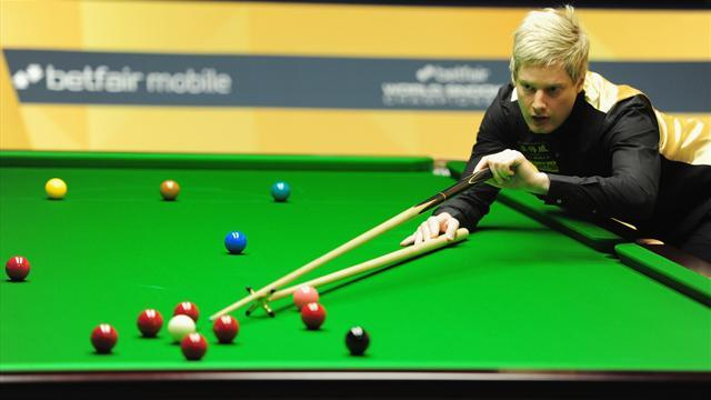 Snooker - Robertson beats Selby to complete triple crown