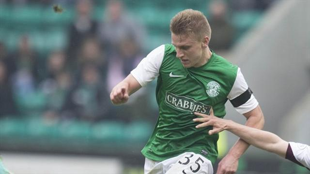 Scottish Premiership - Cummings puts Terry Butcher's Hibs in driving seat