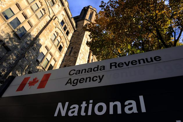 The Canada Revenue Agency headquarters in Ottawa is shown on Friday, November 4, 2011. THE CANADIAN PRESS/Sean Kilpatrick