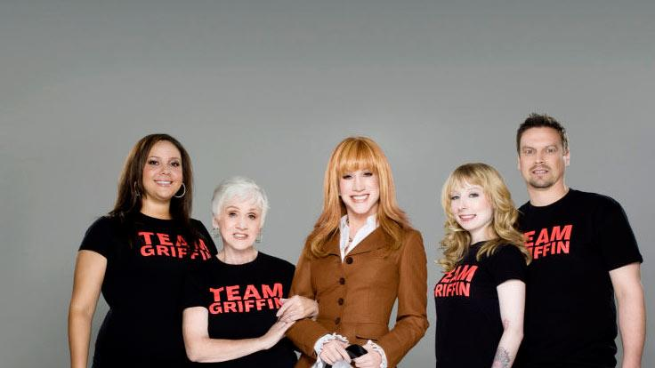The cast of Kathy Griffin: My Life on the D-list.