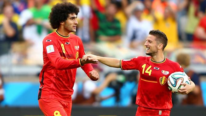 World Cup - Late comeback ensures Belgium start with win