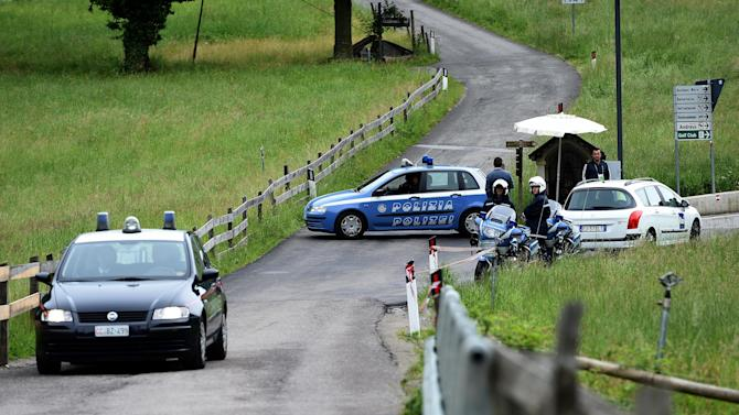 World Cup - Car accident scare at German team training camp