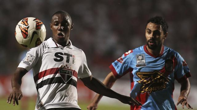 South American Football - Sao Paulo: Difficult to keep Wellington