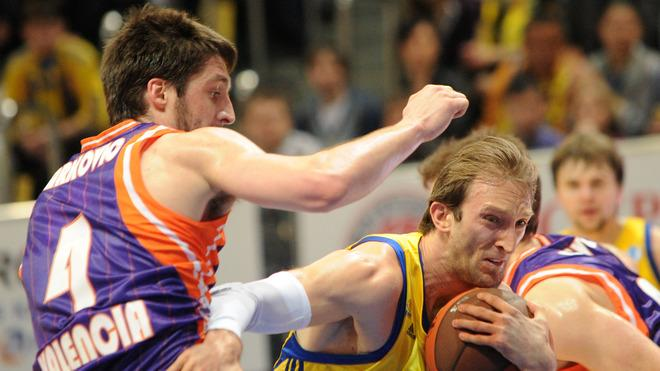 Valencia's Stefan Markovic Vies AFP/Getty Images