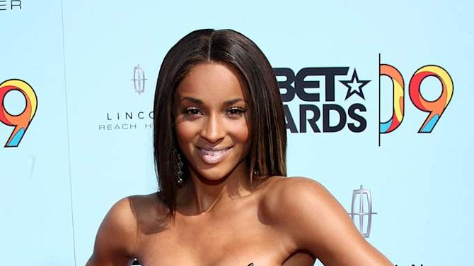 Singer Ciara arrives at the 2009 BET Awards at the Shrine Auditorium on June 28, 2009 in Los Angeles, California.