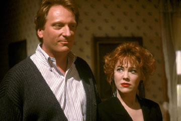 Jeffrey Jones and Catherine O'Hara in Geffen's Beetlejuice