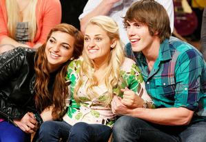 Aylin Bayramoglu, Ali Stroker and Blake Jenner | Photo Credits: Tyler Golden/Oxygen