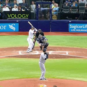 Miller turns double play
