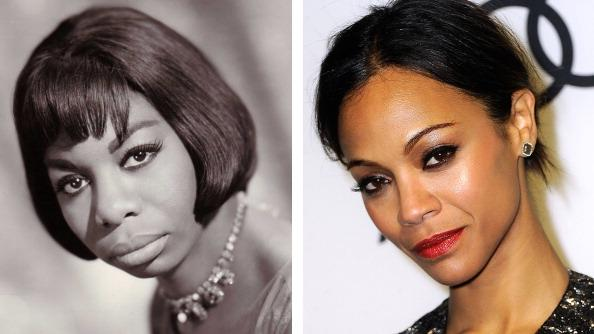 FILE PHOTO:  Actress Zoe Saldana To Play Nina Simone In Biopic Role