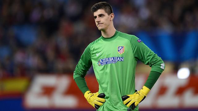 Champions League - Atletico 'will have to pay £4.95m to play Courtois against Chelsea'