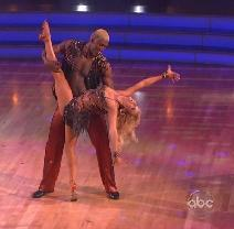 """Ron Artest and Peta Murgatroyd compete on Season 13, Episode 1 of """"Dancing with the Stars"""" -- ABC"""