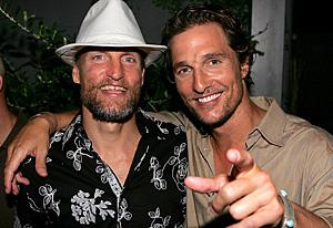 Woody Harrelson and Matthew McConaughey  | Photo Credits: Gary Miller/WireImage
