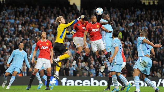 Premier League 2011/2012 City United De Gea