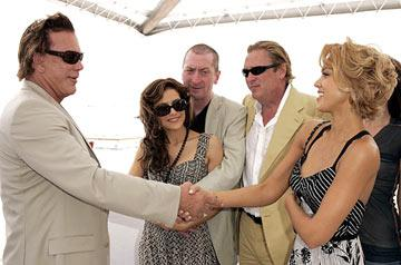 Mickey Rourke, Brittany Murphy, Frank Miller, Michael Madsen and Jessica AlbaMiramax Luncheon Cannes Film Festival - 5/17/05