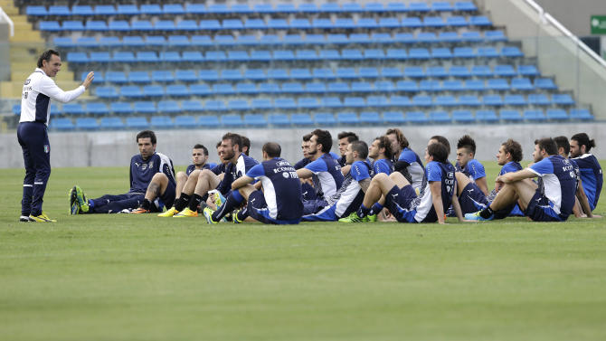 Brazil Soccer Confed Cup Italy