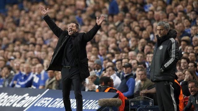 Champions League - Simeone thanks players' mothers for team's 'big cojones'