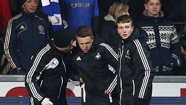 League Cup - 'Hazard ball boy' puts jacket for sale on eBay