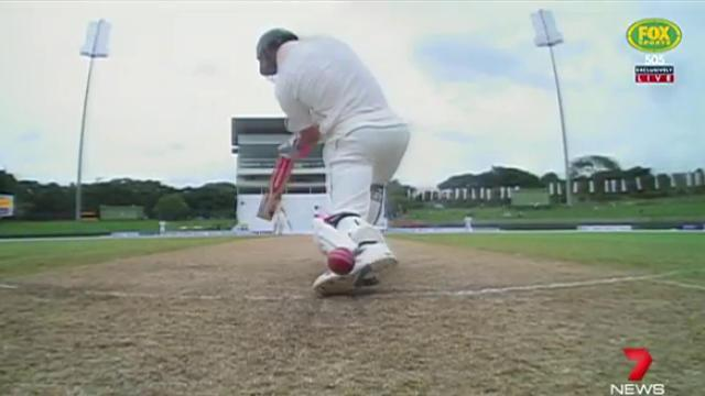 Aussies in command early in first cricket Test