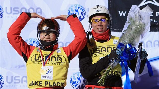 Freestyle Skiing - China dominate aerials in Lake Placid