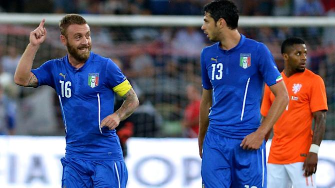 International friendlies - Conte gets Italy tenure off to winning start against Holland