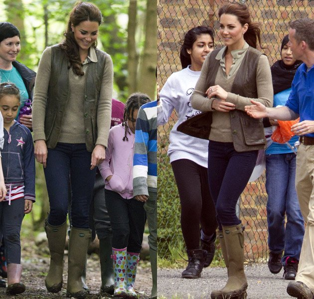 Kate Middleton, Festival Fashion