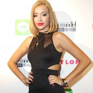 Mirjana Puhar attends America's Next Top Model Cycle 21 premiere party presented by NYLON and LINE at SupperClub Los Angeles on August 20, 2014 in Los Angeles -- Getty Images
