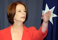 "Australian ministers on said environmental activists were living in ""fantasy land"" after plans to disrupt the country's coal export boom were revealed. With the Australian Coal Association calling the campaign ""economic vandalism"", Prime Minister Julia Gillard, pictured, moved to reassure miners that the government strongly supported the sector"