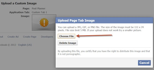 How to Add/Change an App Thumbnail Image on your Facebook Page image appthumbspp8
