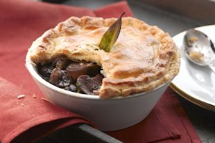 Top 5 vegetarian pie recipes