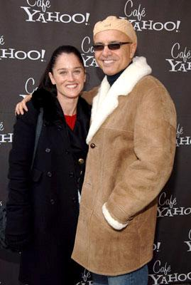 Robin Tunney and Joe Pantoliano Cafe Yahoo - 1/20/2006 2006 Sundance Film Festival