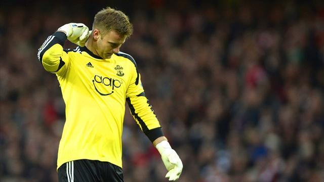 Premier League - Arsenal go four clear after Boruc howler