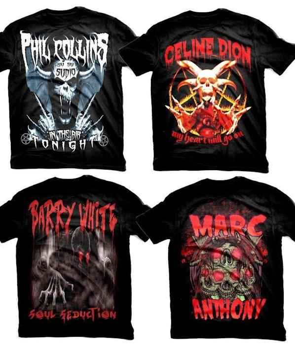 pop gone death metal shirts